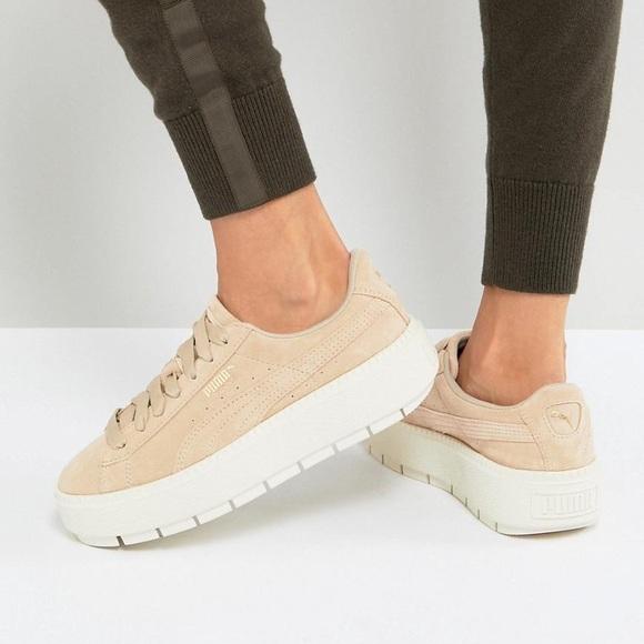 Puma Shoes   Puma Platform Trace Womens